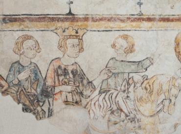 CARLO MAGNO VA ALLA GUERRA. Cavalieri e amor cortese nei castelli tra Italia e Francia.