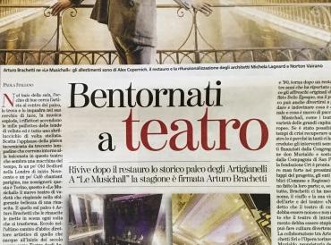 Bentornati a teatro con Arturo Brachetti